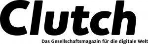 Clutch-Logo sw mit Claim