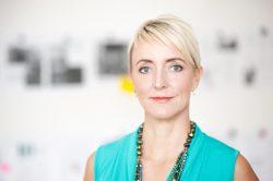 Porträt Andrea Buzzi, Herausgeberin und Chefredakteurin von Clutch (Bildnachweis: Klaus Knuffmann)