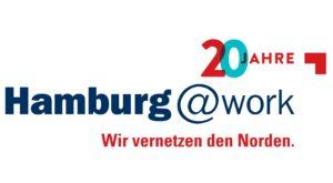 Logo 20 Jahre Hamburg@work