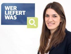 """Porträt Mareike Gilow, Online Marketing Managerin bei """"Wer liefert was"""" (Bildnachweis: Wer liefert was)"""