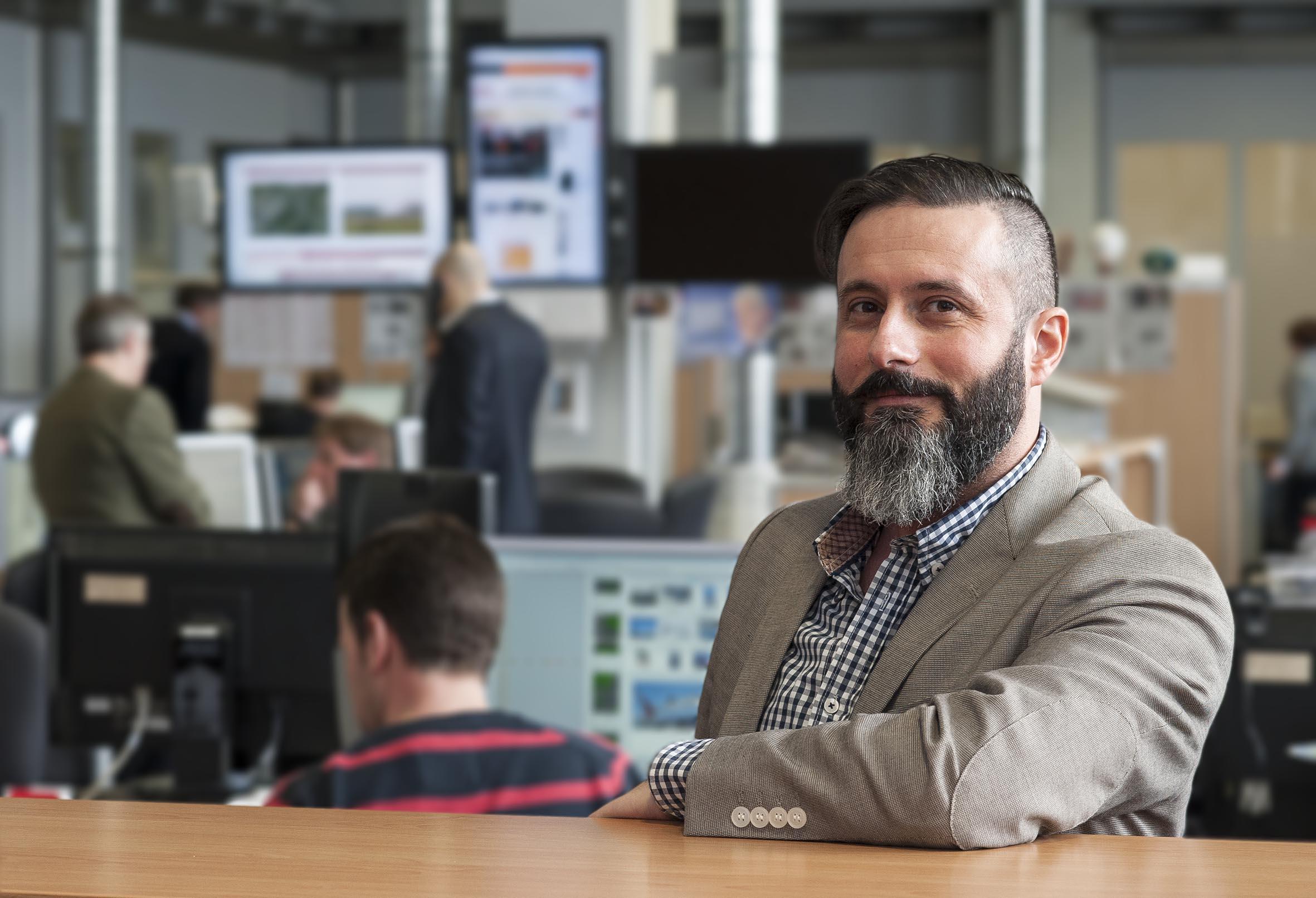 Coskun Tuna, Gründer und Geschäftsführer von Seeding Alliance