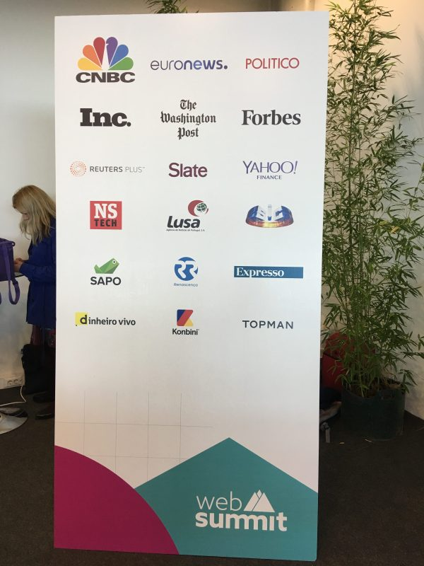 Medienpartner des Web Summit