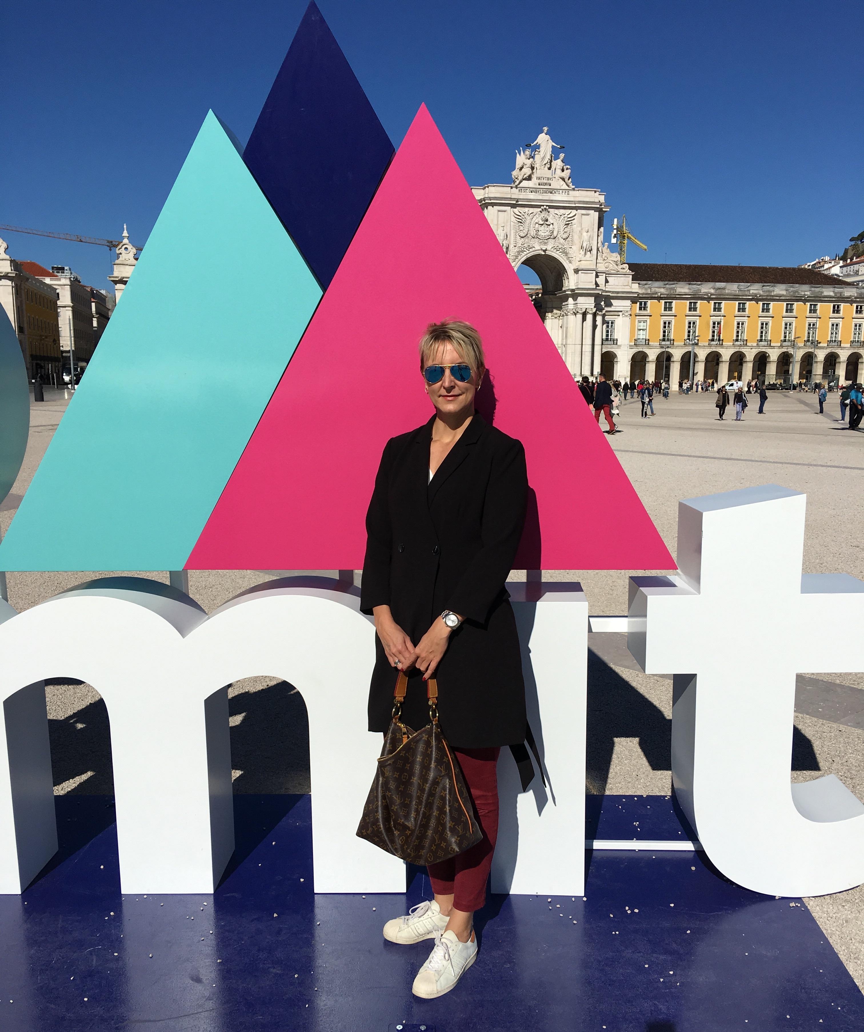 Andrea Buzzi war für Cutch auf dem Web Summit (Bild: privat)