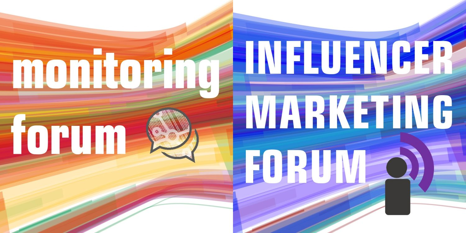 Influencer Marketing Forum und Monitoring Marketing Forum Kongress Media