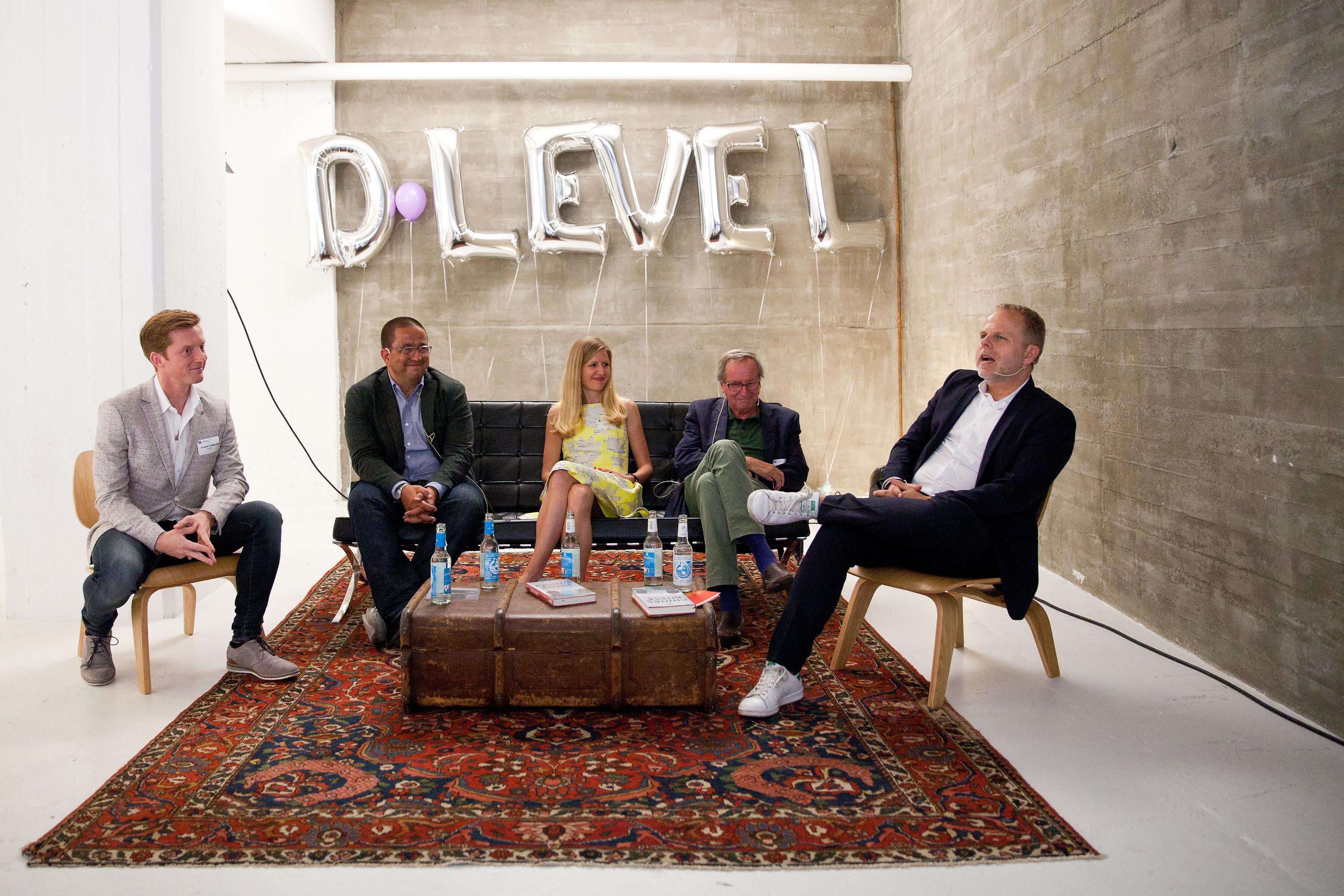 Das Experten-Panel beim D-Level-Talk #1 am 12. Juni.