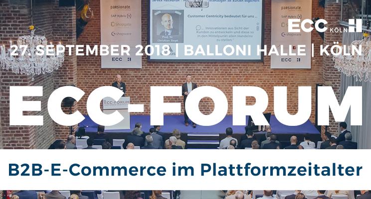 ECC-Forum in Köln (Credit: IFH Köln GmbH)