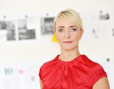 Andrea Buzzi, Inhaberin und CEO der Agentur Frau Wenk für Clutch Online (Bild: Klaus Knuffmann)