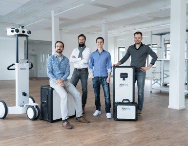 Das Team von NavVis (Credit: NavVis GmbH)