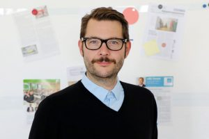 Alexander Becker, Chefredakteur von Clutch (Credit: Klaus Knuffmann)