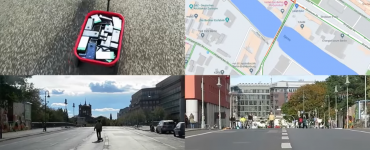 Google Maps Hacks by Simon Weckert