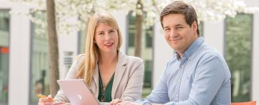 Maria und Dominik Sievert, Gründer von inveox (Beitragsbild: inveox)