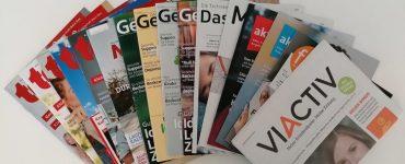 Die Magazine der Krankenkassen im Check