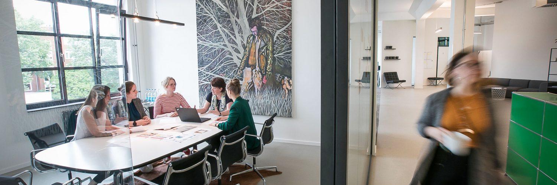 Das New Work-Konzept der Agentur Frau Wenk (Beitragsbild: Klaus Knuffmann)